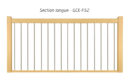 GCE-F52 - SECTION LONGUE